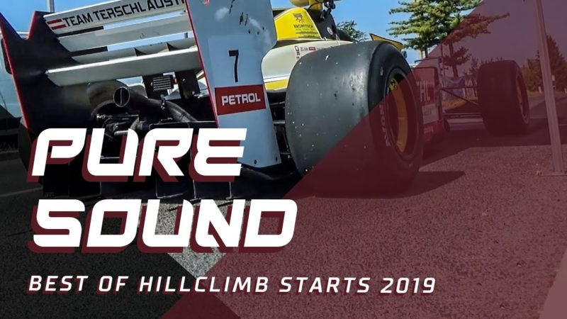 Hillclimb starts of season 2019